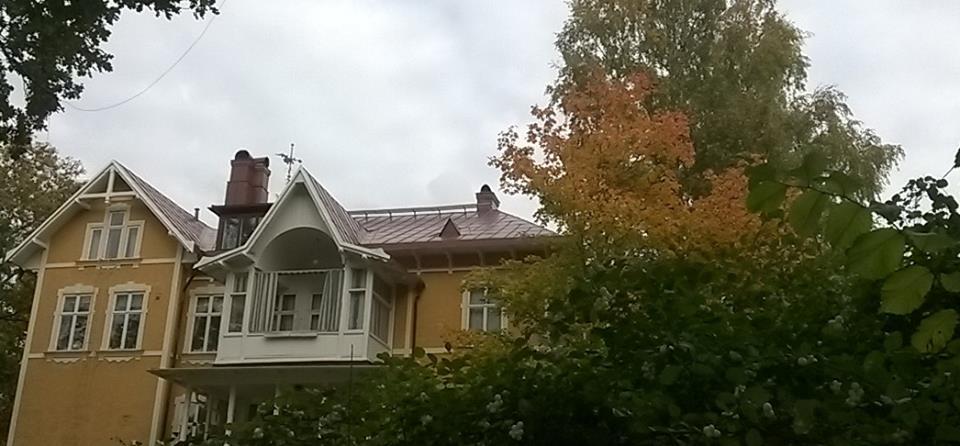 Det fria ordets hus. Foto: Erik Lindfelt